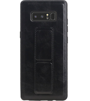 Samsung Samsung Galaxy Note 8 Zwart | Grip Stand Hardcase Backcover  | WN™ - hoesjeshoek