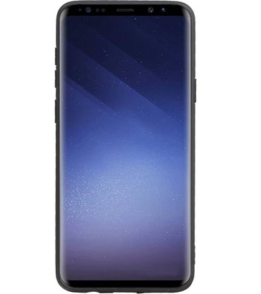 Samsung Samsung Galaxy S9 Plus Zwart | Grip Stand Hardcase Backcover  | WN™ - hoesjeshoek