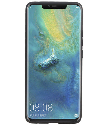Huawei Mate 20 Pro Blauw | Grip Stand Hardcase Backcover  | WN™ - hoesjeshoek