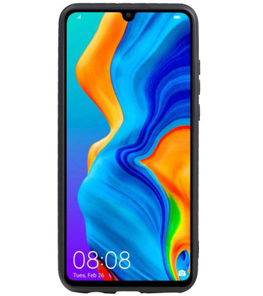 Huawei P20 Lite Blauw | Grip Stand Hardcase Backcover  | WN™ - hoesjeshoek