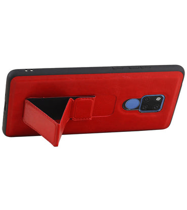 Huawei Mate 20 X Rood | Grip Stand Hardcase Backcover  | WN™ - hoesjeshoek
