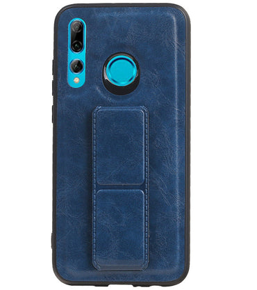 Honor 20 Lite Blauw | Grip Stand Hardcase Backcover  | WN™ - hoesjeshoek