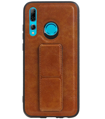 Honor 20 Lite Bruin | Grip Stand Hardcase Backcover  | WN™ - hoesjeshoek