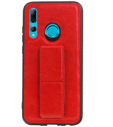 Honor 20 Lite Rood | Grip Stand Hardcase Backcover  | WN™ - hoesjeshoek