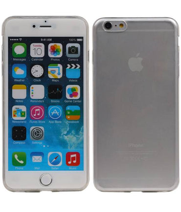 iPhone 6 / 6S Ultra-thin | Transparent TPU Hoesje  | WN™ - hoesjeshoek