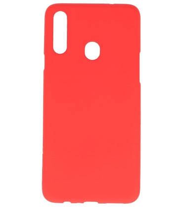 Samsung Samsung Galaxy A20s Rood | Backcover Siliconen  Hoesje  | WN™
