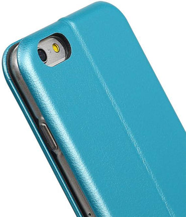 iPhone 6 Blauw | Slim Folio Case  | WN™