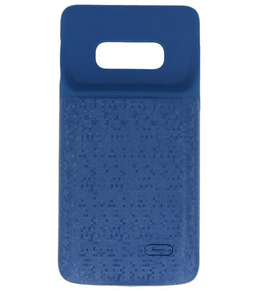 Samsung Galaxy S10 Plus 5000 mAh Blauw | Powerbank case hoes  | WN™