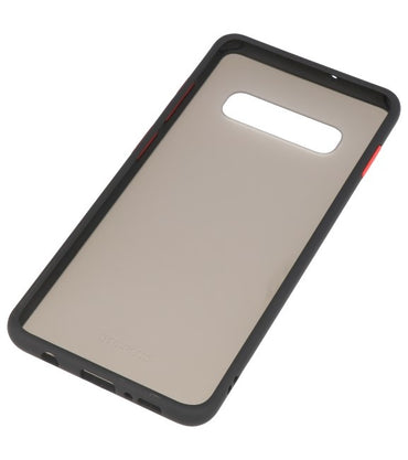 Samsung Galaxy S10 Plus Zwart | Kleurcombinatie Hard Case  | WN™