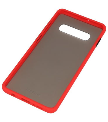 Samsung Galaxy S10 Plus Rood | Kleurcombinatie Hard Case  | WN™
