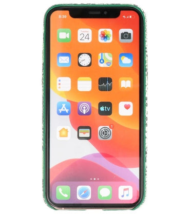 iPhone 11 Pro Groen | Slang Design backcover hoes  | WN™