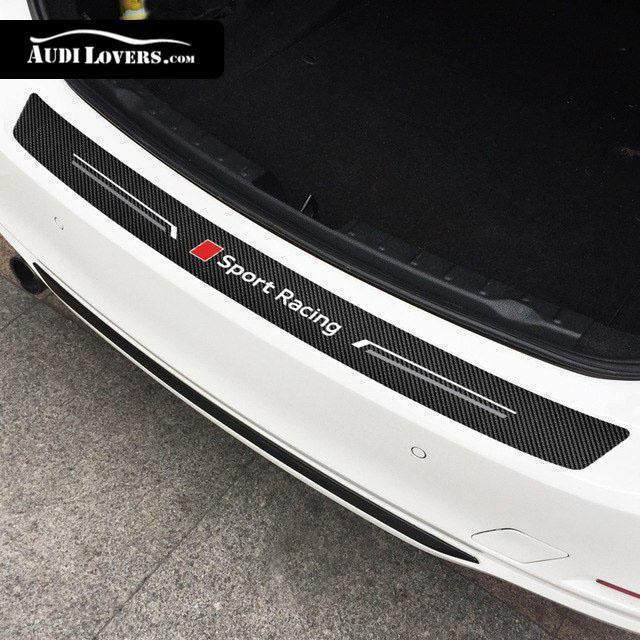 Sport Racing Carbon Style Trunk Bumper Sticker (100% protection)