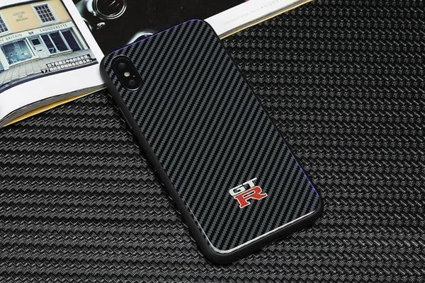 Luxury GTR Carbon Fibre Phone Case