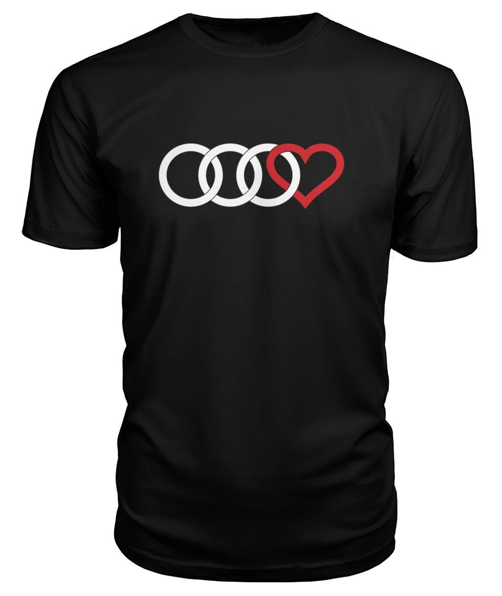 'Audi Red Heart' Premium T-Shirt
