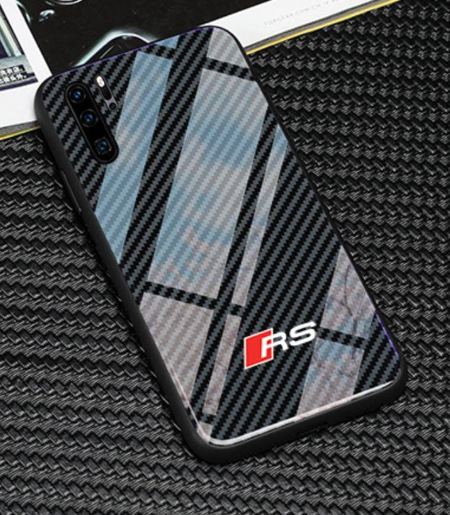 Luxury RS Carbon Fiber Style Case For Iphone & Samsung