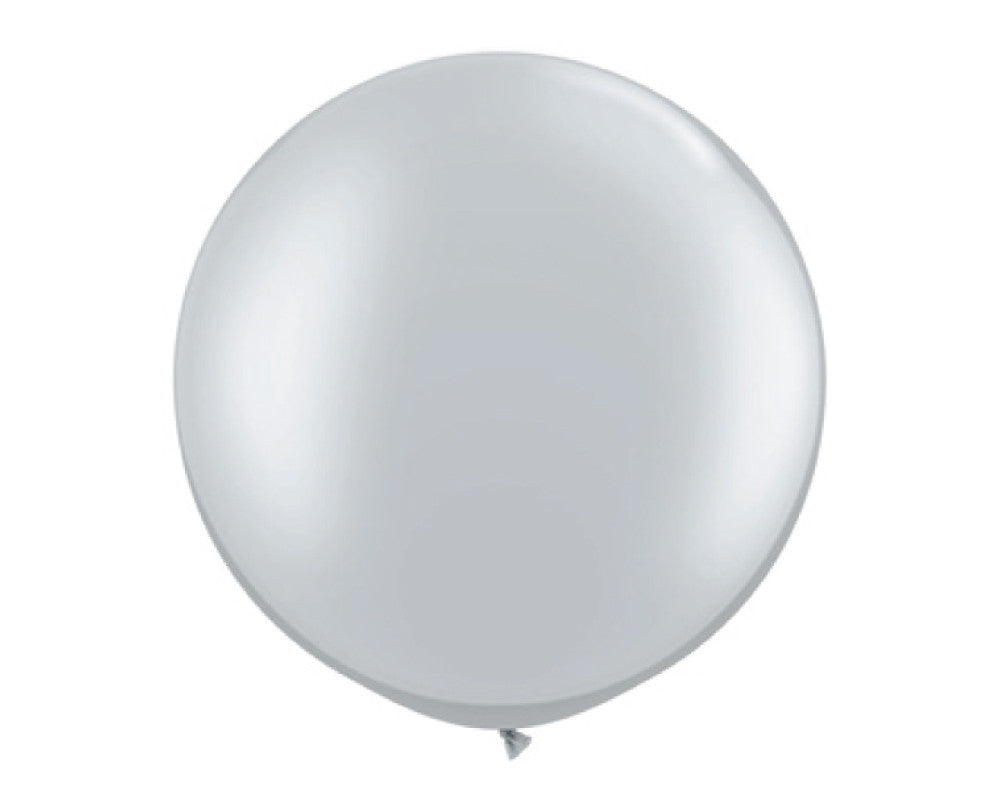 "Silver 30"" Balloon - Undercover Hostess"