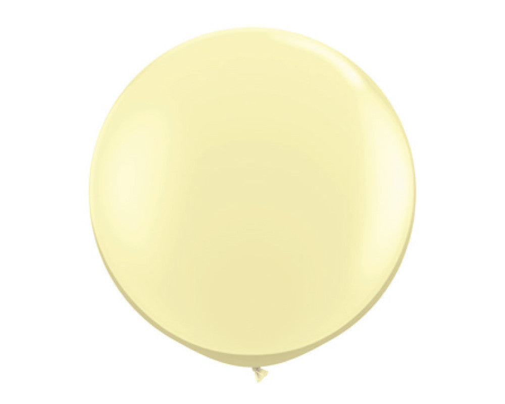 "Ivory 36"" Balloon - Undercover Hostess - 1"