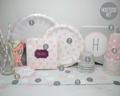 Cute as a Button Baby Hostess Kit - Undercover Hostess - 8