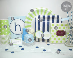 A Striped Soiree Hostess Kit - Undercover Hostess - 6