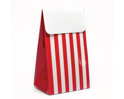 Red Stripe Favor Box
