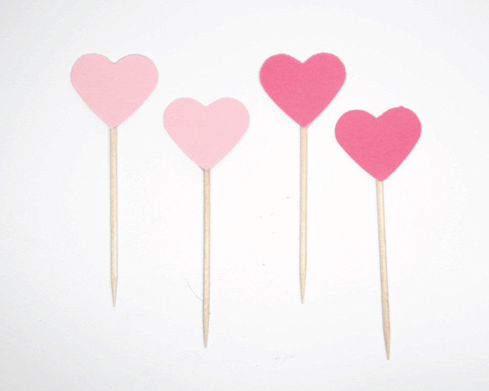 Ombre Obsession Heart Party Picks - Undercover Hostess - 1
