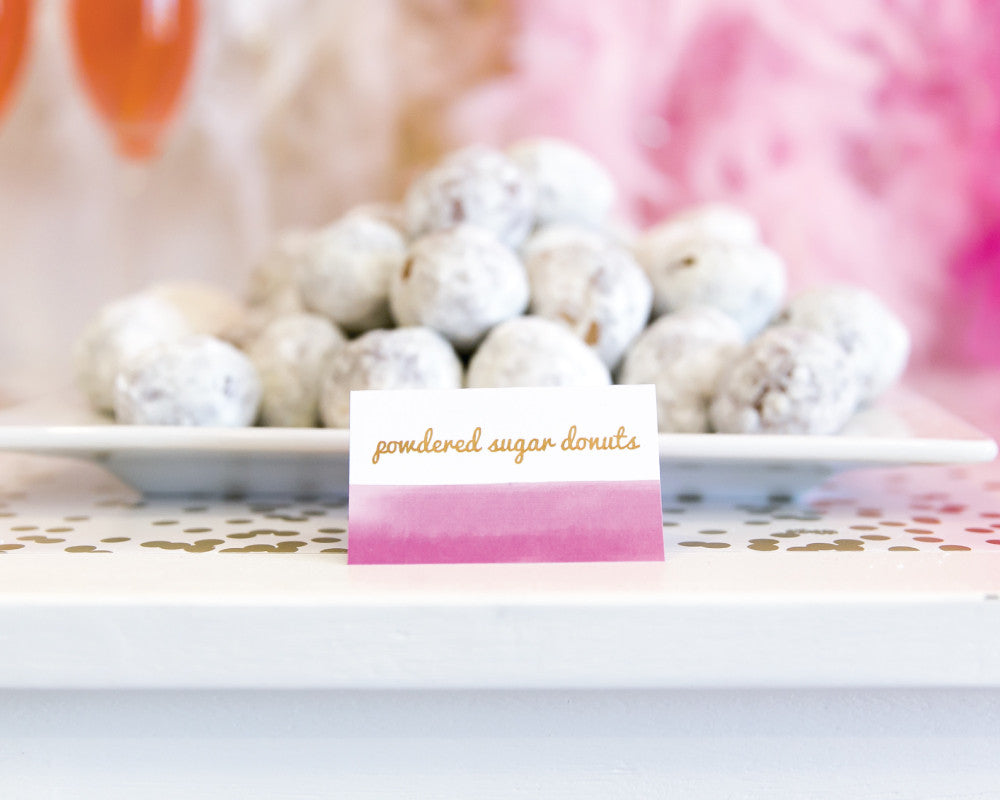 Ombre Obsession Tent Cards - Undercover Hostess