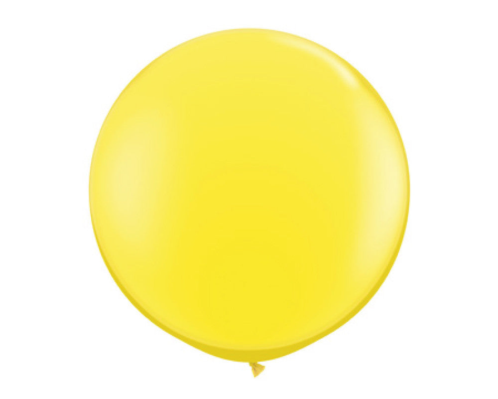 "Yellow 36"" Balloon - Undercover Hostess - 1"