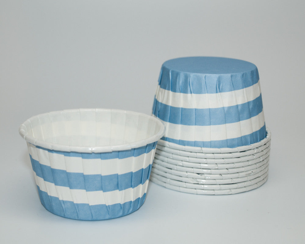 Blue Stripe Candy Cups - Undercover Hostess