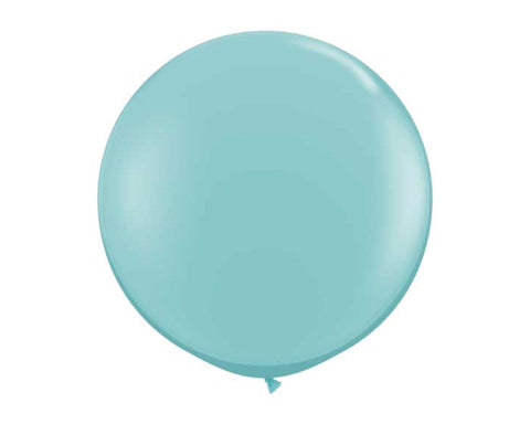 "Carribbean Blue 36"" Balloon"
