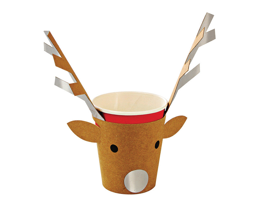 Reindeer Cups - Undercover Hostess