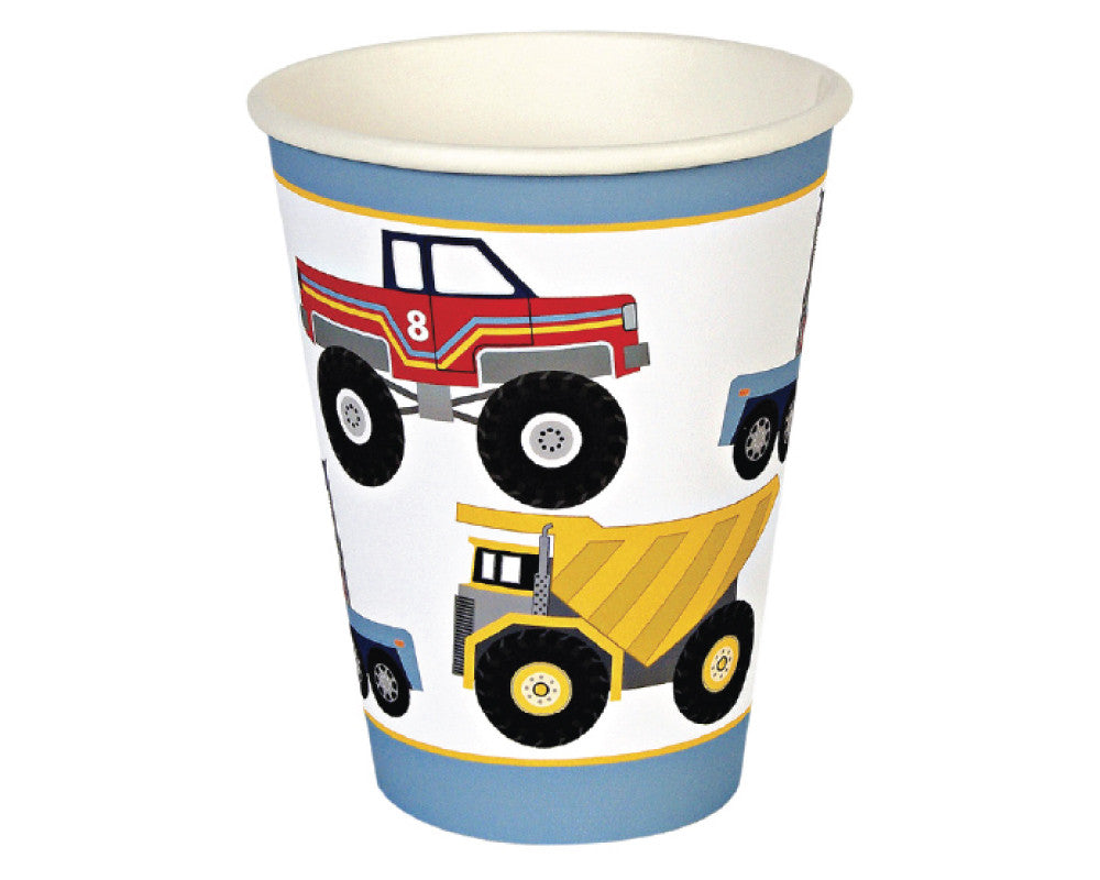 Construction Paper Cups - Undercover Hostess