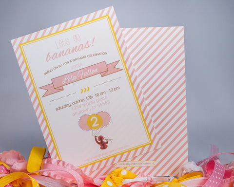 Cute and Curious Invitations