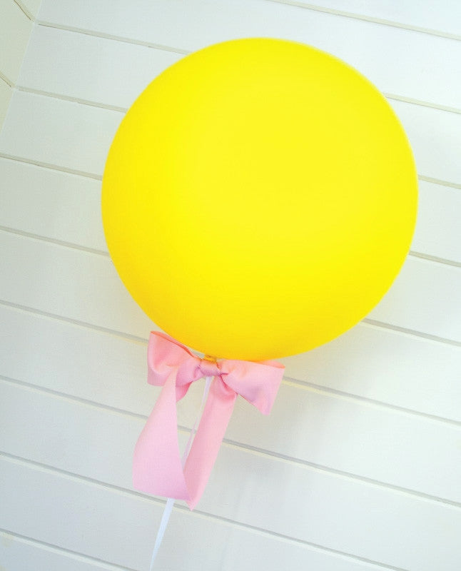 Cute and Curious Statement Balloons & Bow Set - Undercover Hostess