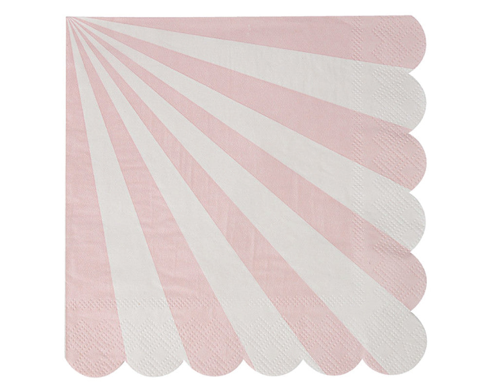 Dusty Pink Small Napkins - Undercover Hostess