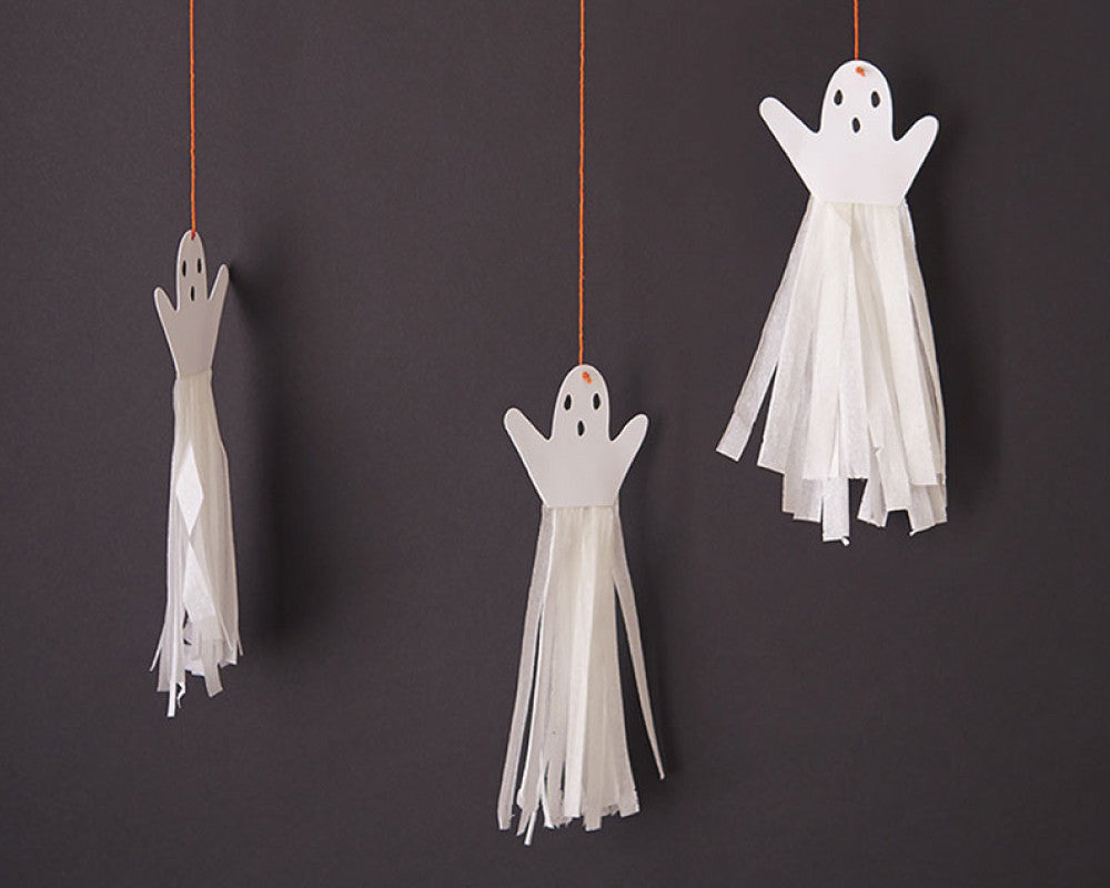 Halloween Ghost Tassels - Undercover Hostess - 1