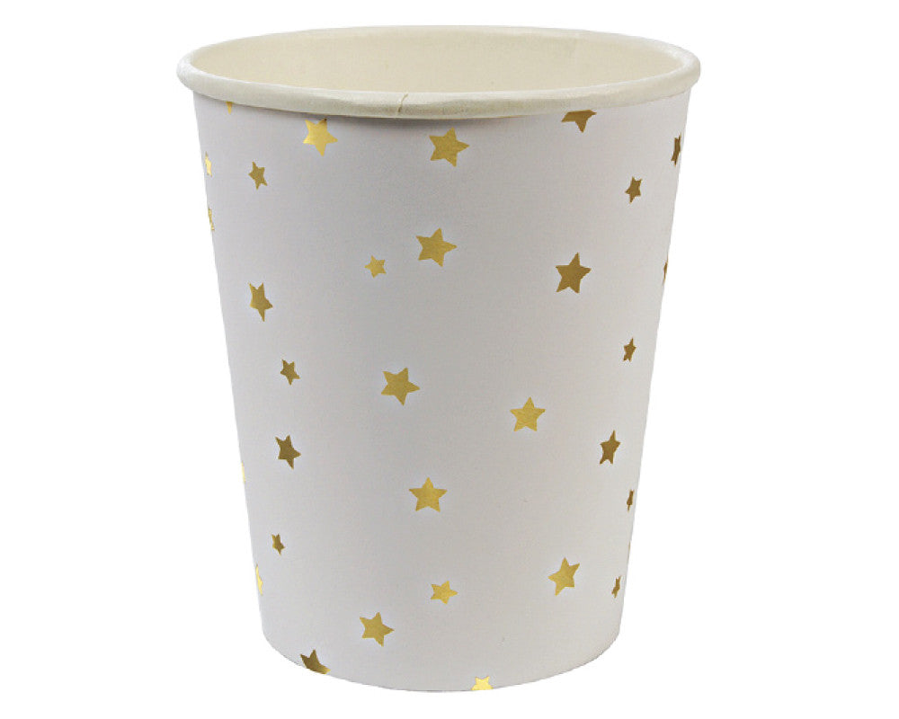 Gold Star Paper Cups - Undercover Hostess