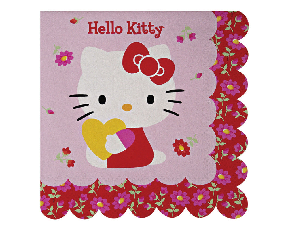 Hello Kitty Small Napkins - Undercover Hostess