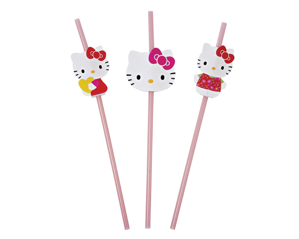Hello Kitty Straws - Undercover Hostess - 1