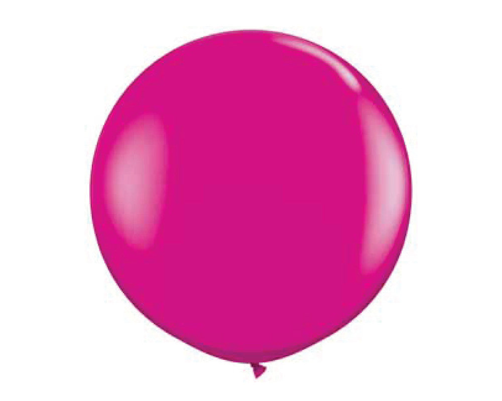 "Hot Pink 36"" Balloon - Undercover Hostess - 1"