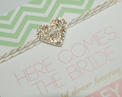 Mint to be Glam Bridal Shower Invitations - Undercover Hostess - 2