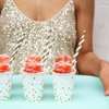 Mint Confetti Paper Cups - Undercover Hostess - 2