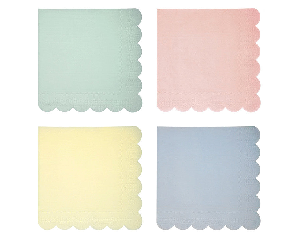Pastel Large Napkins - Undercover Hostess - 1