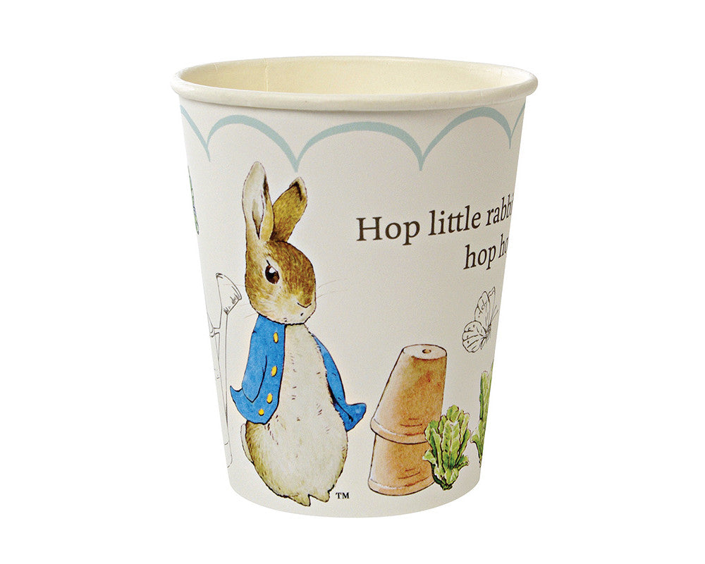Peter Rabbit Cups - Undercover Hostess
