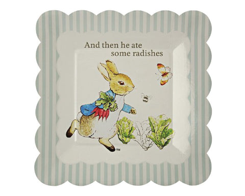 Peter Rabbit Dessert Plates