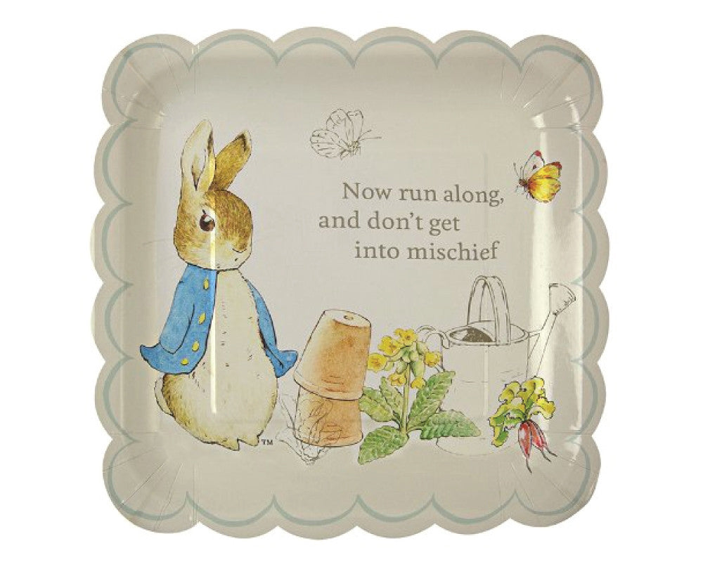 Peter Rabbit Large Plates - Undercover Hostess