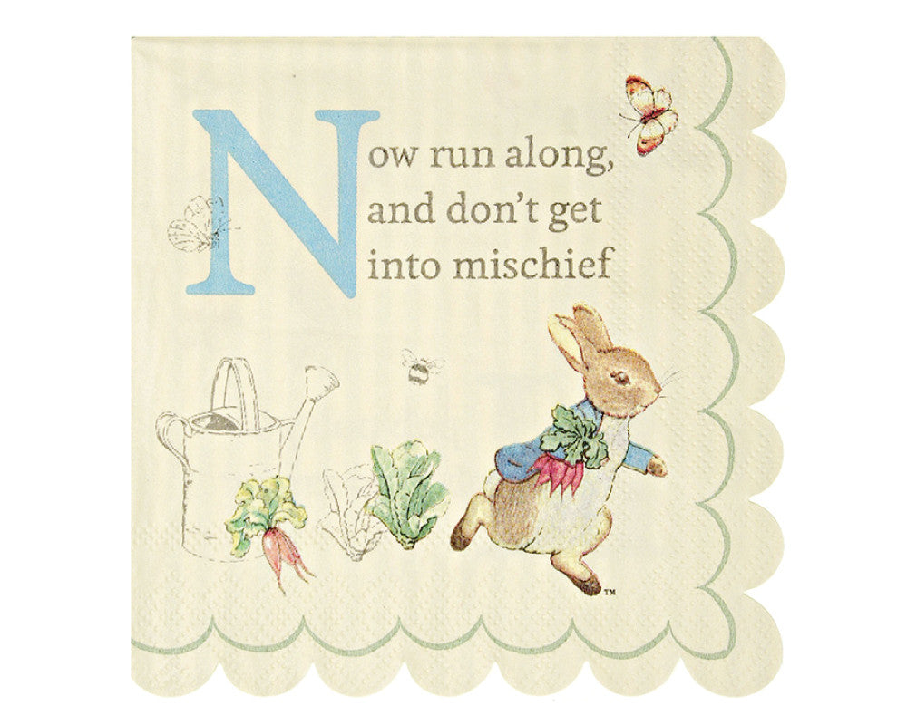 Peter Rabbit Small Napkins - Undercover Hostess