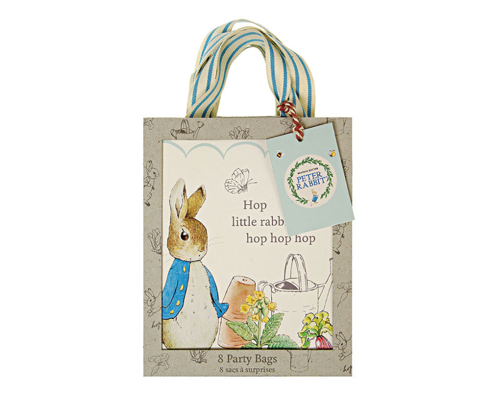 Peter Rabbit Favor Bags - Undercover Hostess