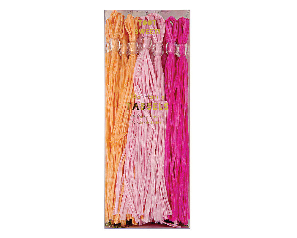 Pink Party Tassels - Undercover Hostess