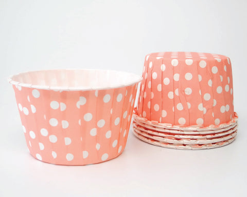 Pink Polka Dot Candy Cups