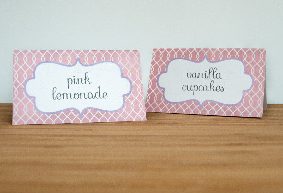 Tutu Sweet Tent Cards - Undercover Hostess